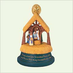 2005 The Journey Of The Kings Magic Hallmark Ornament At