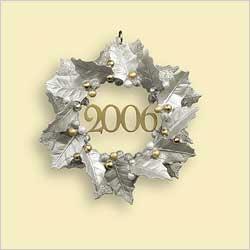 2006 Bright Memories Hard To Find Hallmark Ornament At
