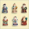 2006 Santas From Around the World set/6 *Miniature
