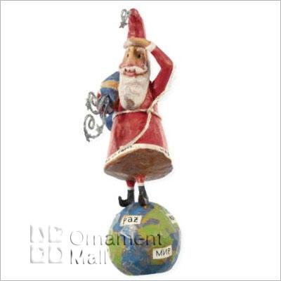 2008 A Santa Claus Christmas Peace On Earth Hallmark