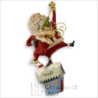 2008 A Santa Claus Christmas Magic Man Hallmark Ornament