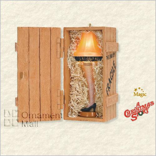 2008 A Christmas Story The Unforgettable Leg Lamp *magic Hallmark ...