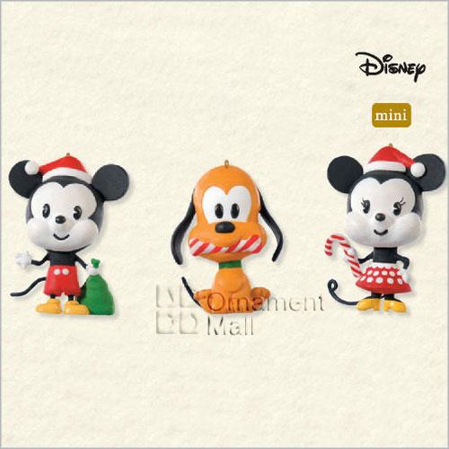 2008 Disney All Set For Christmas Set 3 Miniature