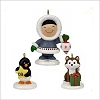 2009 Frosty Friends Christmas Fun With Friends set/3 *Event *Miniature MIB