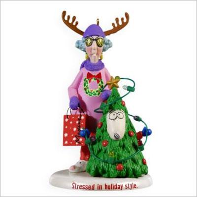 2009 Maxine A Crabby Little Christmas Hallmark Ornament At