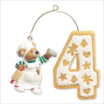 2009 My 4th Christmas Hallmark Ornament At Ornament Mall