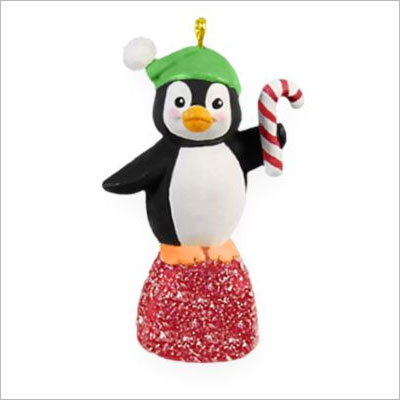 2009 Goody Gumdrops Penguin Miniature Red Hallmark