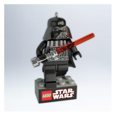2011 Star Wars Lego Darth Vader Hallmark Ornament at ...