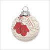 2013 A Cozy Christmas Porcelain and Fabric Ball