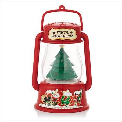 2013 Santa Signal Lantern Magic Hallmark Ornament At