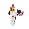 2013 Peanuts Monthly Series 12th Snoopy Patriotic Pals