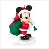 2014 Disney Monthly Series 5th Mickey Santa's Happy Helper