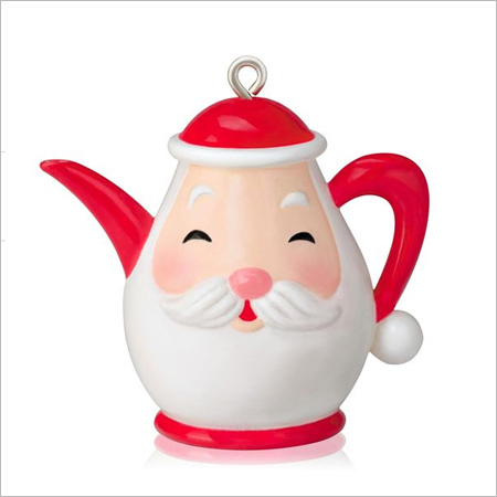 2014 Santa 39 S Little Teapot Miniature Hallmark Ornament At