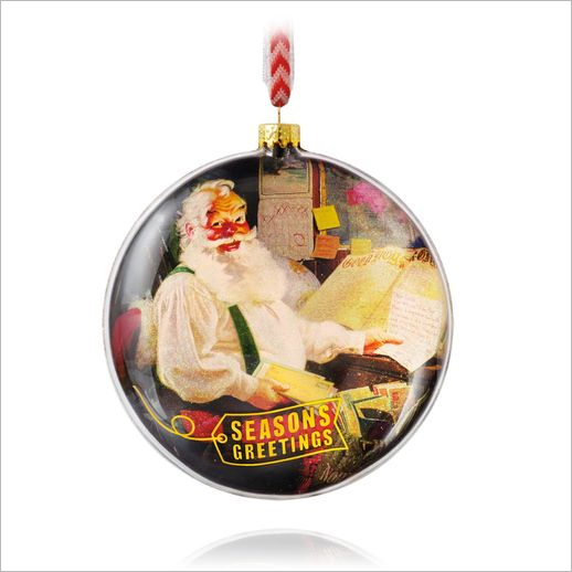 2015 Letters To Santa Ball Hallmark Ornament At Ornament Mall