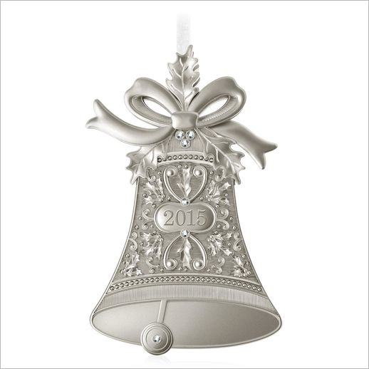 Christmas bells metal hallmark ornament at mall