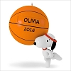 2016 Snoopy Slam Dunk Snoopy Basketball *Personalization Stickers