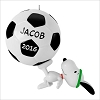2016 Snoopy Kickin' with Snoopy Soccer Ball *Personalization Stickers