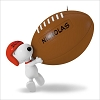 2016 Snoopy Touchdown Snoopy Football *Personalization Stickers