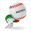2016 Snoopy Slugger Snoopy Baseball *Personalization Stickers