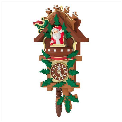 2016 Santa 39 S Tiny Timekeeper Miniature Hallmark Ornament