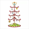 2017 Season's Treatings Tree with Ornaments set/12 *Miniature Display