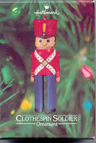 1980 Little Trimmers Clothespin Soldier  (NB)