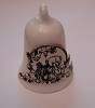 1992 Thimble Bells Miniature Ornament PROTOTYPE