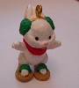 1992 Snowshoe Bunny Miniature Ornament PROTOTYPE