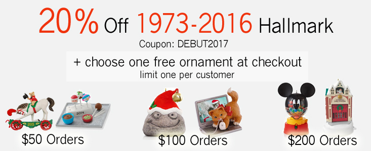 We have 25 ornament mall coupons for you to consider including 25 promo codes and 0 deals in November Grab a free hocalinkz1.ga coupons and save money. Hallmark Ornaments New, Hallmark Ornaments,Low Prices,Free Shipping,Buy 5/5(1).