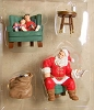 2002 Santa's Big Night The Family Room *Event Display SDB
