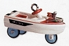 2000 Miniature Kiddie Car Classic 6th 1968 Jolly Roger Flagship Boat *Miniature