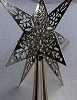 1980 Brass Star Tree Topper