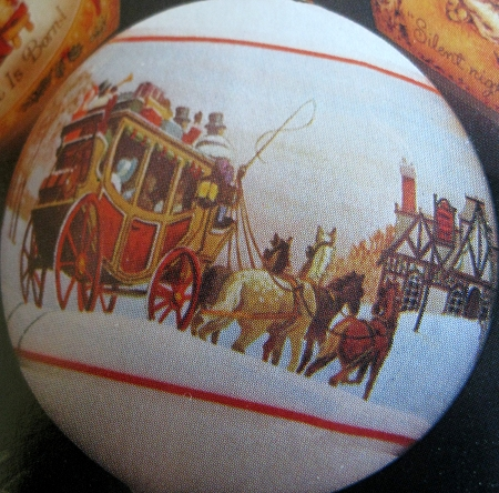 1980 Christmas Time Ball Db Hallmark Ornament At