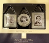 2003 Family Tree Starter Kit Set of 3 Mother of Pearl and Glass