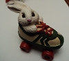 1984 Roller Skating Rabbit Painted Prototype (SIGNED by Sharon Pike)
