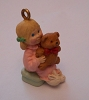 1990 Bear Hug Miniature Ornament PROTOTYPE