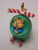 1992 Christmas Copter Miniature Ornament PROTOTYPE