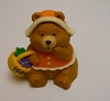 1989 Pilgrim Bear W Basket Merry Miniature Prototype