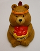 1989 Indian Bear W Apples Merry Miniature Prototype