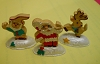 1991 Christmas Cookies Set of Three Merry Miniature Prototype