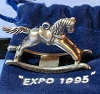 1995 Rocking Horse Pewter Mini *Club-Expo