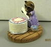 1987 Mini Memories Raccoons Decorating Cake