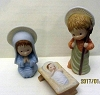 Mary Hamilton Nativity Figurine..Mary, Joseph, Jesus Set