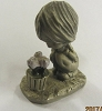 Little Gallery Betsey Clark with Painted Crocus Pewter Figurine