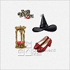 2013 Wizard of Oz Out of Time in Oz set/3 *Ltd. Qty. *Miniature