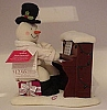 2005 Piano Snowman Plush #3 Mint With Tag