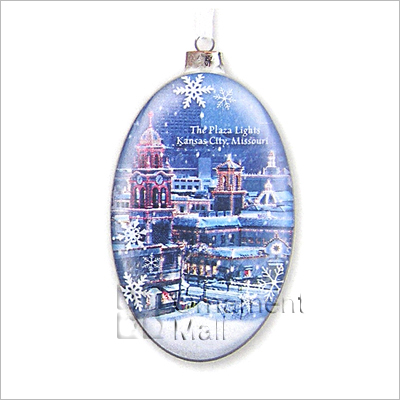 2013 The Plaza Lights Kc Exclusive Hallmark Ornament At