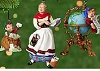 2001 Lettera, Mrs. Claus, & Globus set/3 *Club (NB)