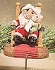 1992 Santa and Child Tender Touch Stocking Hanger(SDB)