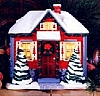 1996 Holiday House Lighted Stocking Hanger (VDB)